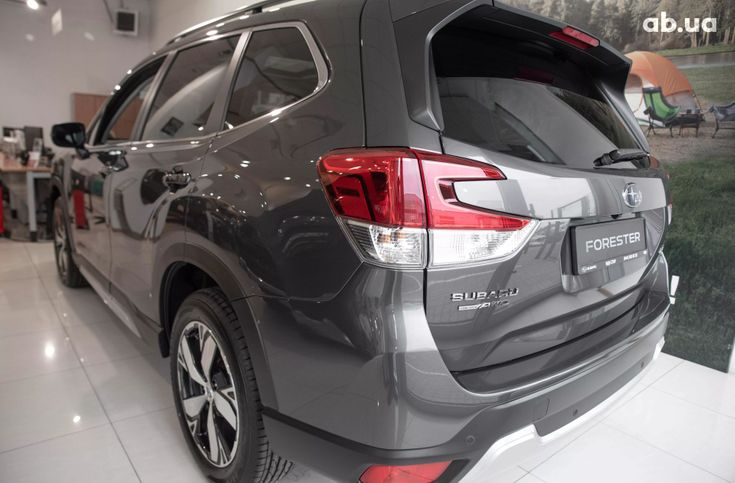 Subaru Forester 2020 серый - фото 5