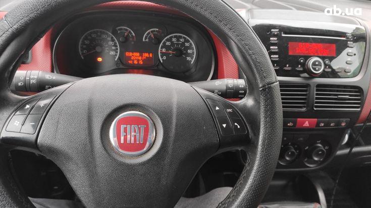 Fiat Doblo 2010 вишневый - фото 9