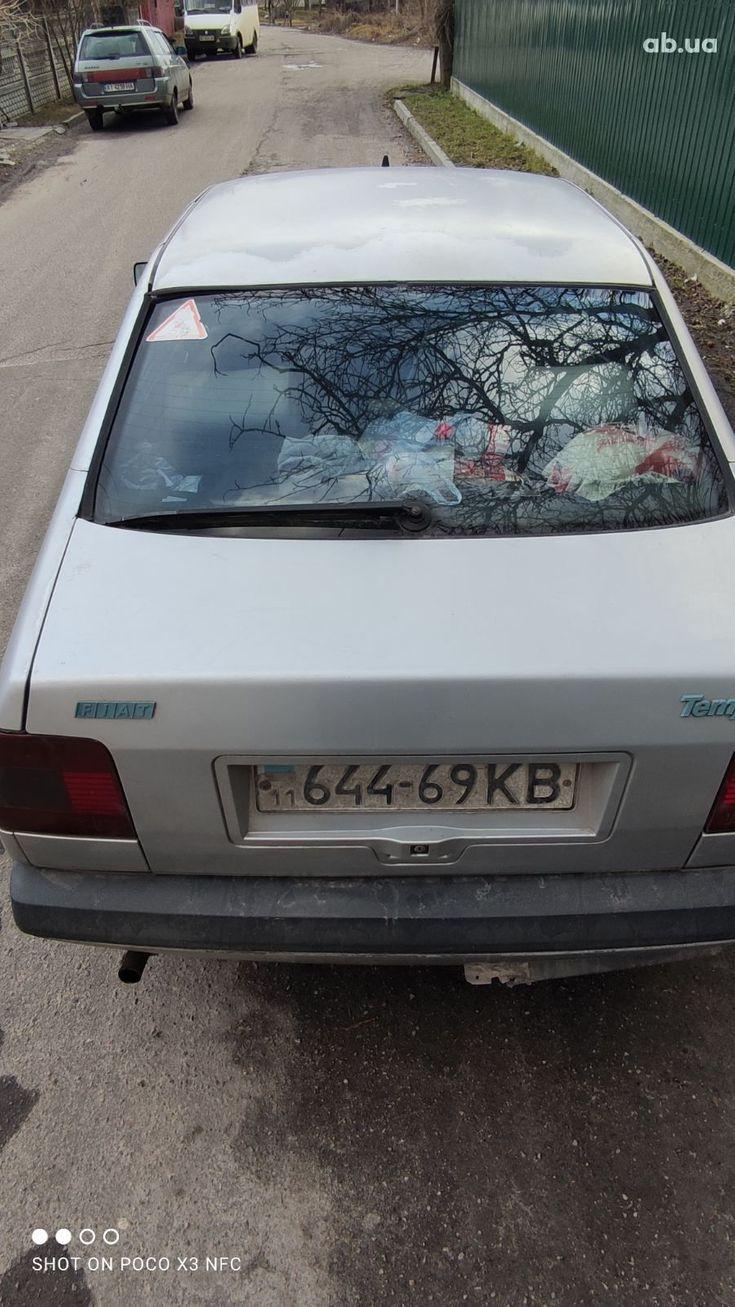 Fiat Tempra 1992 серебристый - фото 2