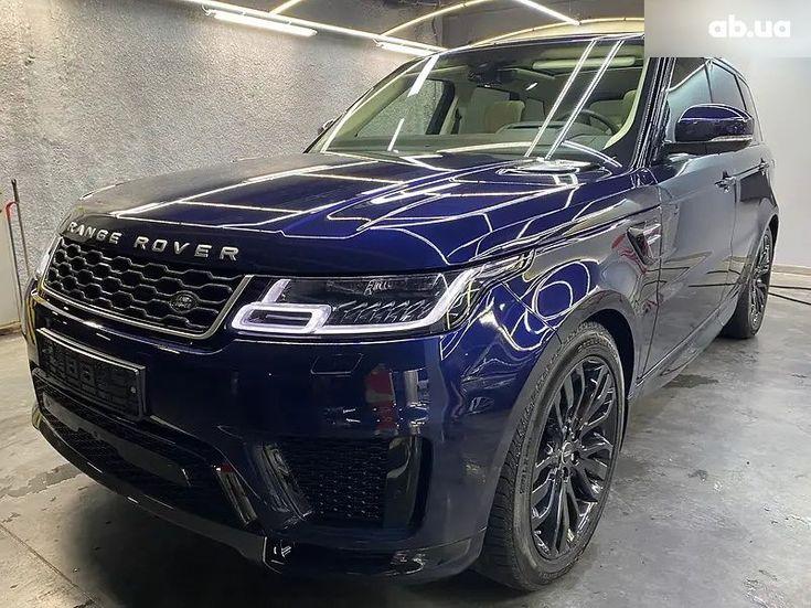 Land Rover Range Rover Sport 2020 синий - фото 1