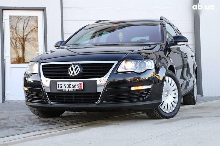 Volkswagen passat b6 2008 черный - фото 2
