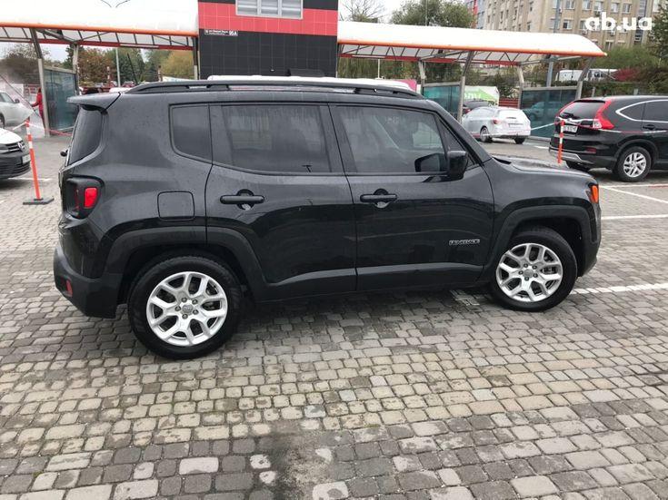 Jeep Renegade 2018 черный - фото 8
