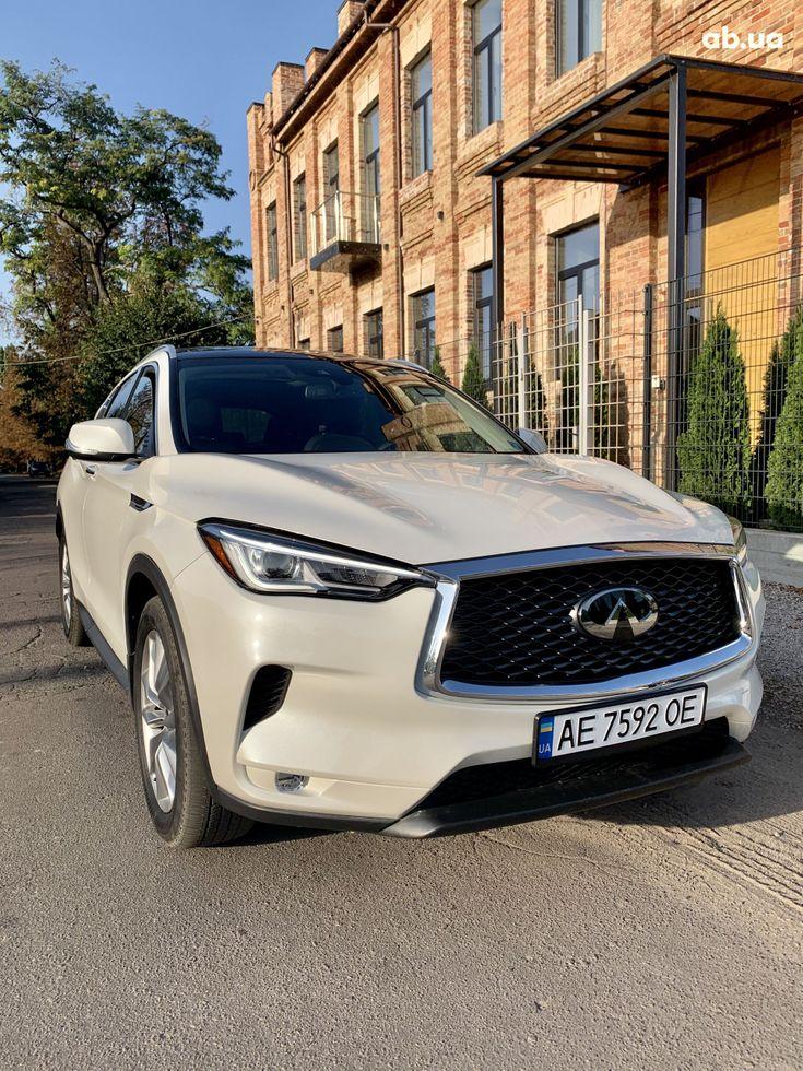 Infiniti QX50 2019 белый - фото 8