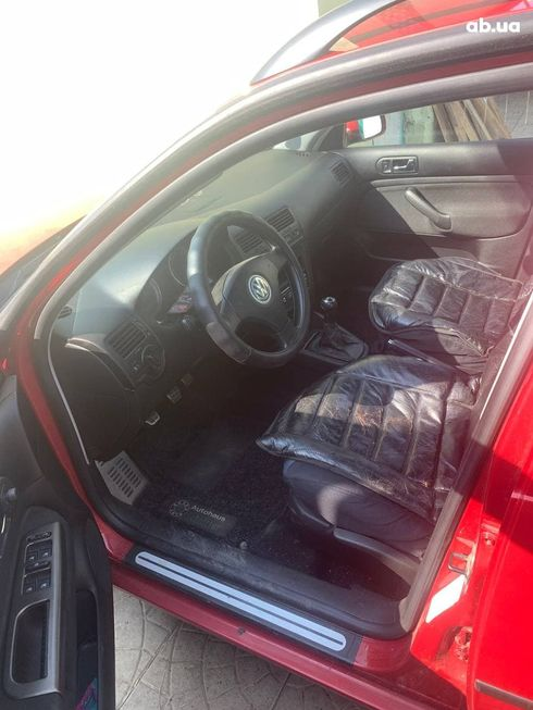 Volkswagen Bora 2004 красный - фото 3