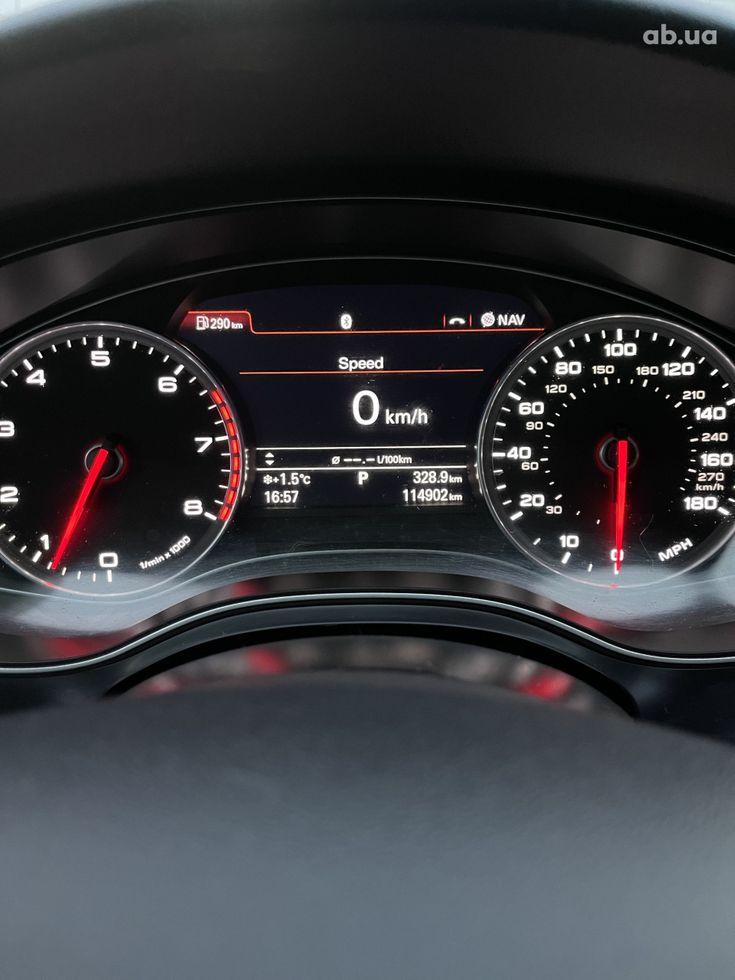Audi A6 2013 черный - фото 16