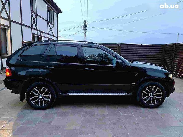 BMW X5 2005 черный - фото 6