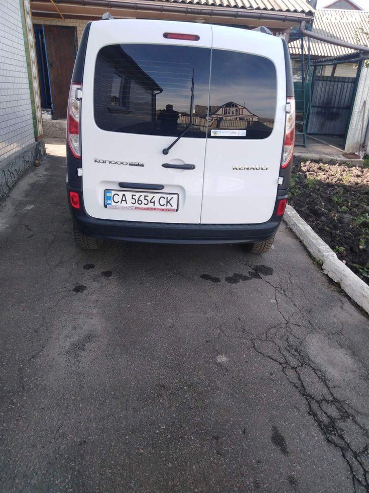 Renault Kangoo 2014 белый - фото 8