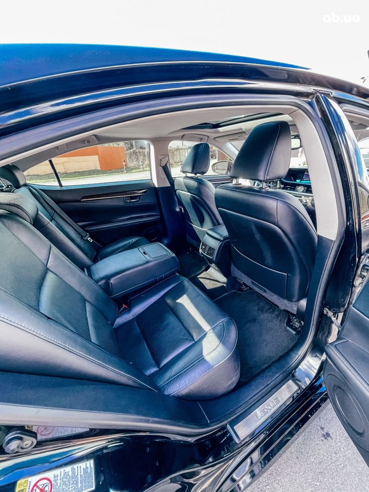 Lexus es 350 2013 черный - фото 12