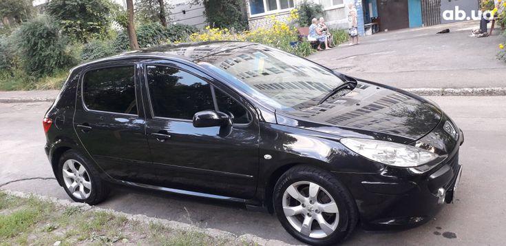 Peugeot 307 2006 черный - фото 1