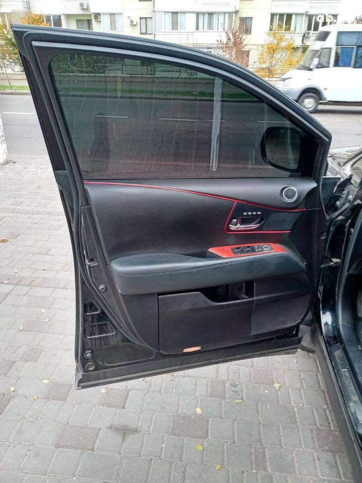 Lexus RX 2010 черный - фото 20