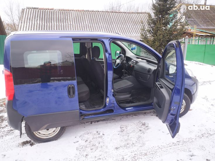 Peugeot Bipper Tepee 2008 синий - фото 8