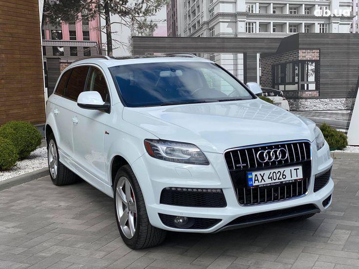 Audi Q7 2013 белый - фото 13