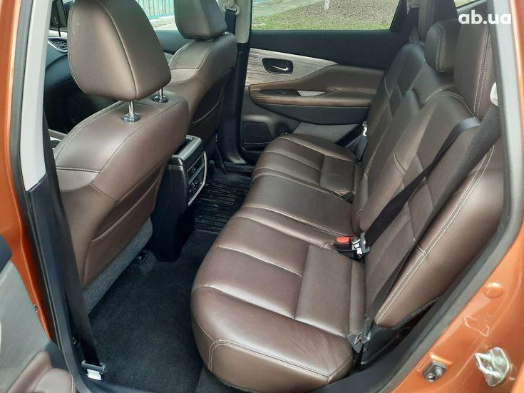Nissan Murano 2015 оранжевый - фото 13