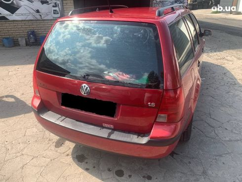 Volkswagen Bora 2004 красный - фото 14
