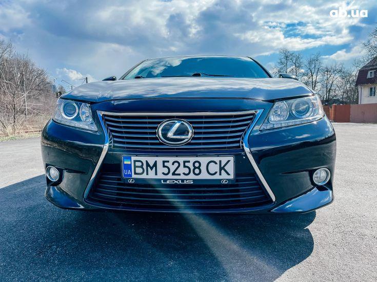 Lexus es 350 2013 черный - фото 7