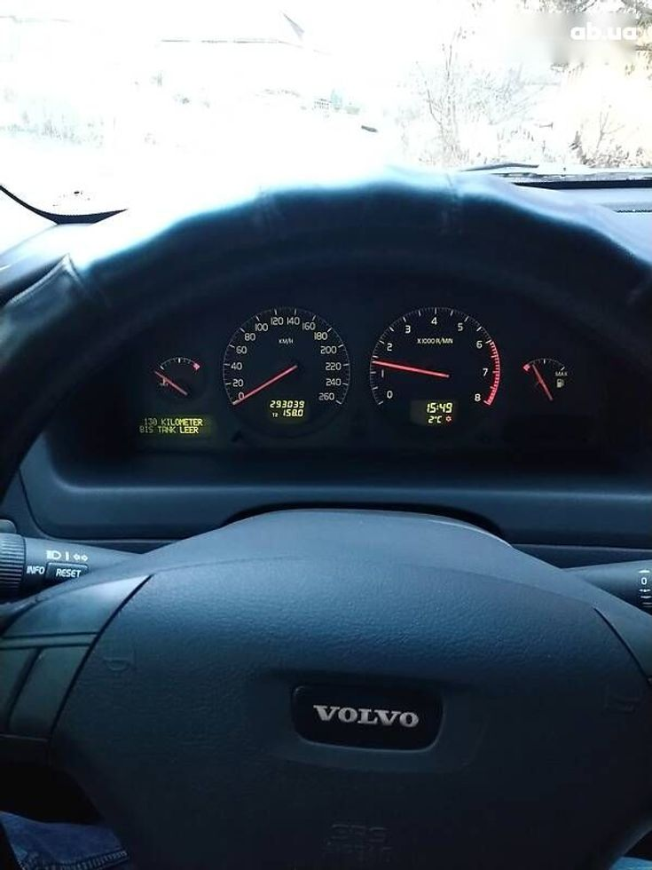 Volvo S60 2001 черный - фото 10