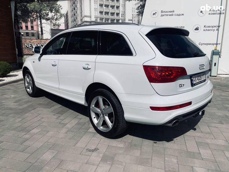 Audi Q7 2013 белый - фото 10