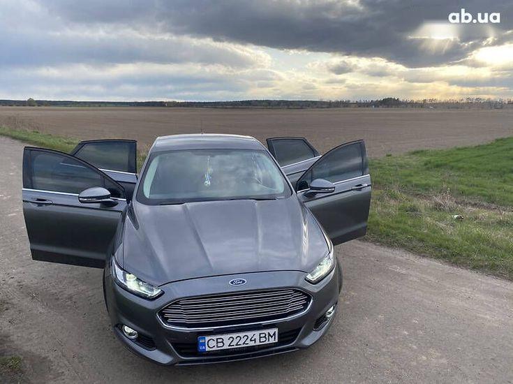 Ford Fusion 2014 серый - фото 11