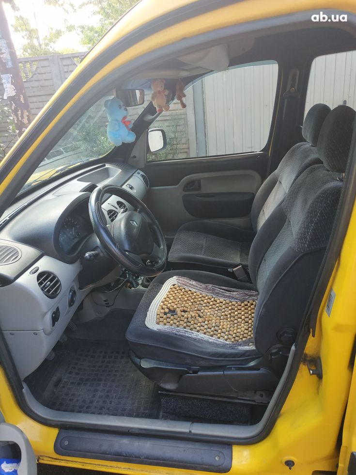 Renault Kangoo 2003 желтый - фото 6