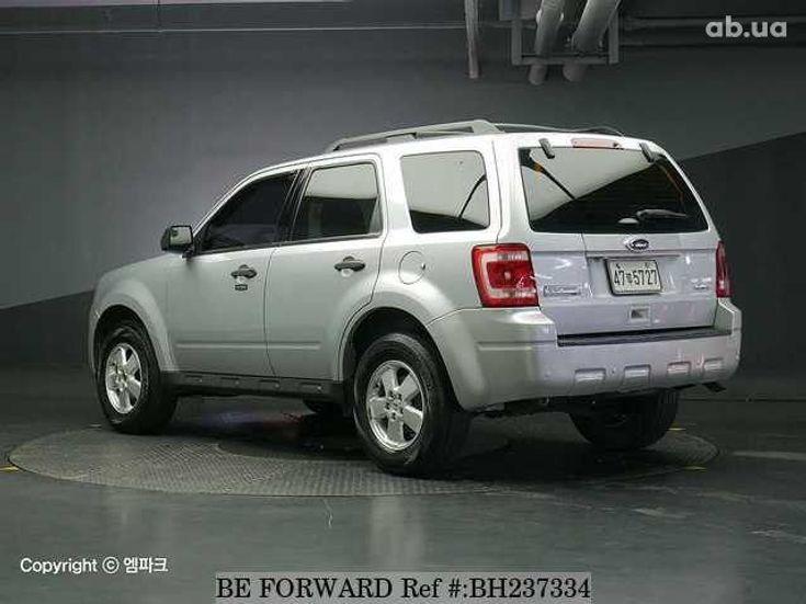 Ford Escape 2012 серебристый - фото 2