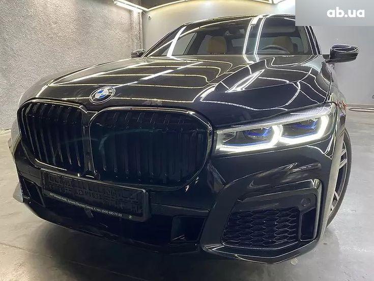 BMW 7 серия 2020 черный - фото 3