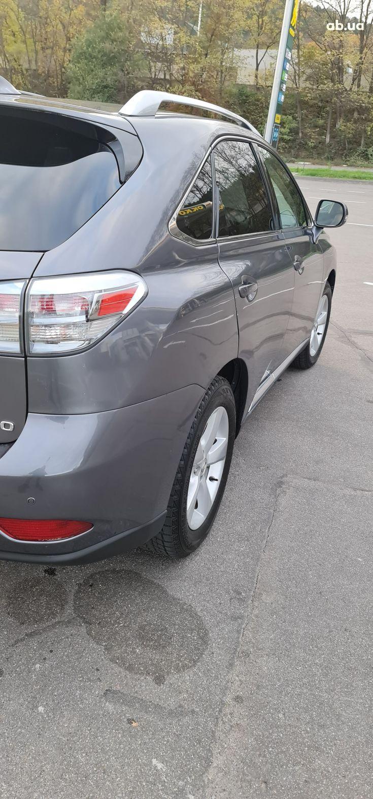 Lexus rx 350 2013 серый - фото 8