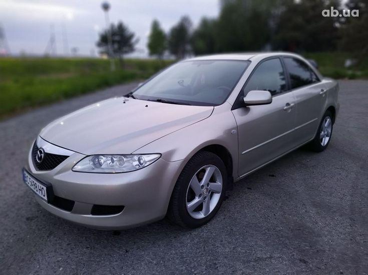 Mazda 6 2003 золотистый - фото 1