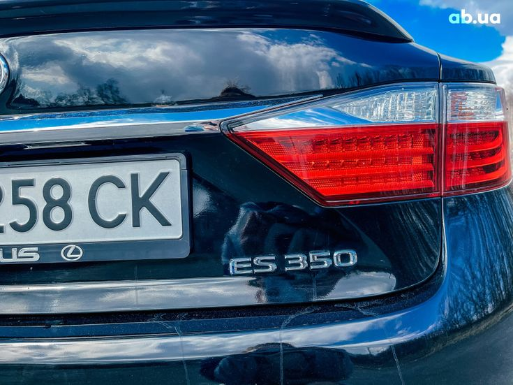 Lexus es 350 2013 черный - фото 13