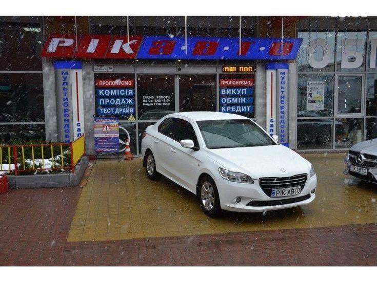 Peugeot 301 2013 белый - фото 1
