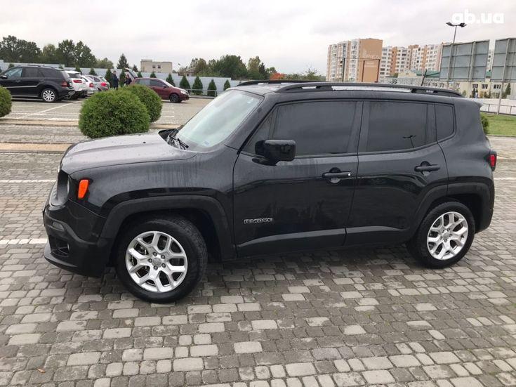 Jeep Renegade 2018 черный - фото 3