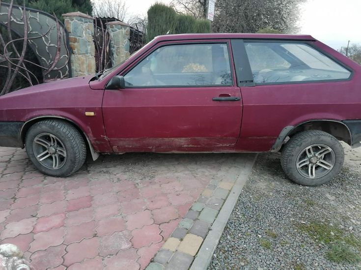 ВАЗ 2108 1993 красный - фото 1