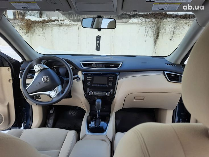 Nissan Rogue 2016 синий - фото 17