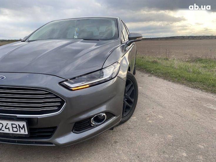 Ford Fusion 2014 серый - фото 13