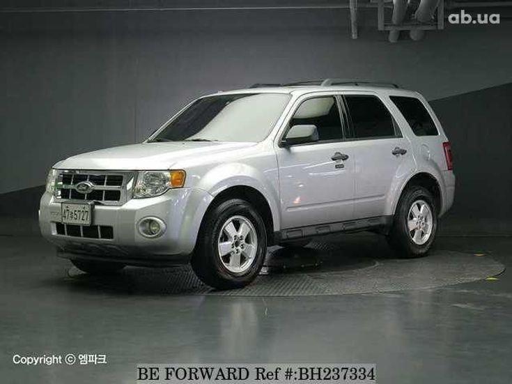 Ford Escape 2012 серебристый - фото 6
