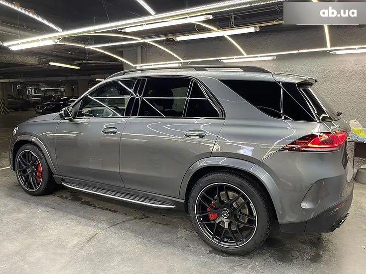 Mercedes-Benz GLE-Класс 2020 серый - фото 4