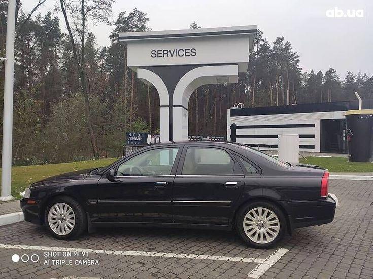 Volvo S80 2006 черный - фото 14