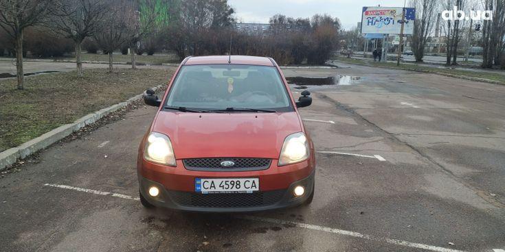 Ford Fiesta 2008 красный - фото 3