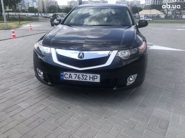Acura TSX 2010 черный - фото 5