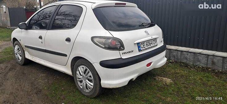 Peugeot 206 2008 белый - фото 10