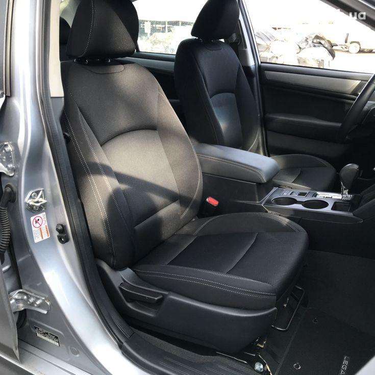 Subaru Legacy 2019 серебристый - фото 11