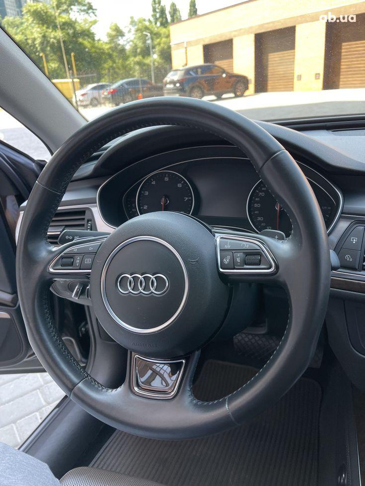 Audi a6 allroad 2013 коричневый - фото 17