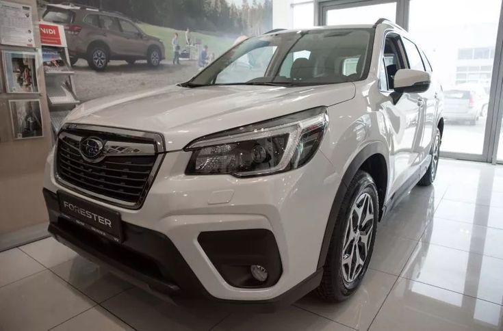 Subaru Forester 2021 белый - фото 1