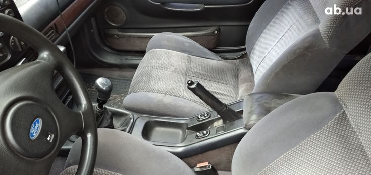 Ford Scorpio 1990 черный - фото 6