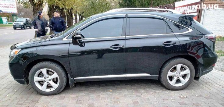 Lexus RX 2010 черный - фото 5