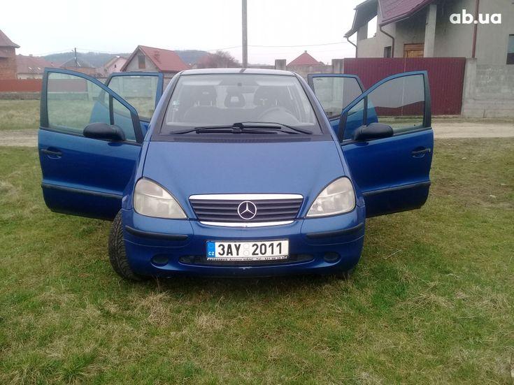 Mercedes-Benz A-Класс 2000 синий - фото 5