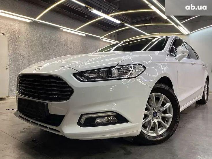 Ford Mondeo 2019 белый - фото 12