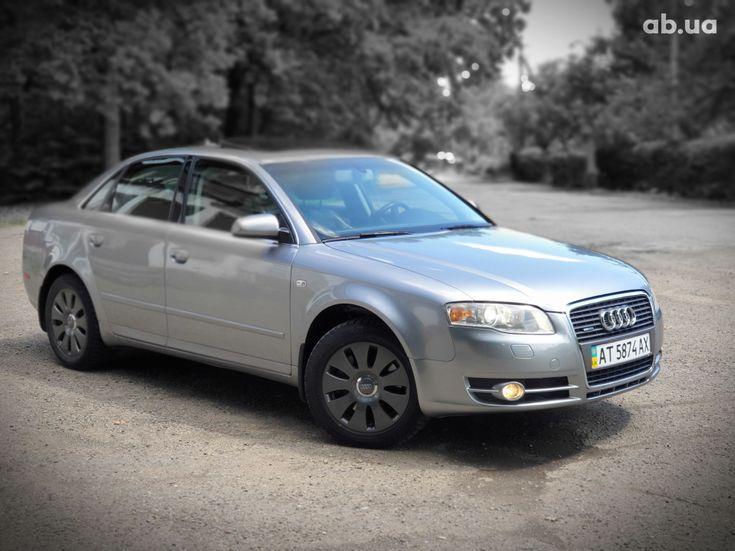 Audi A4 2007 серый - фото 5