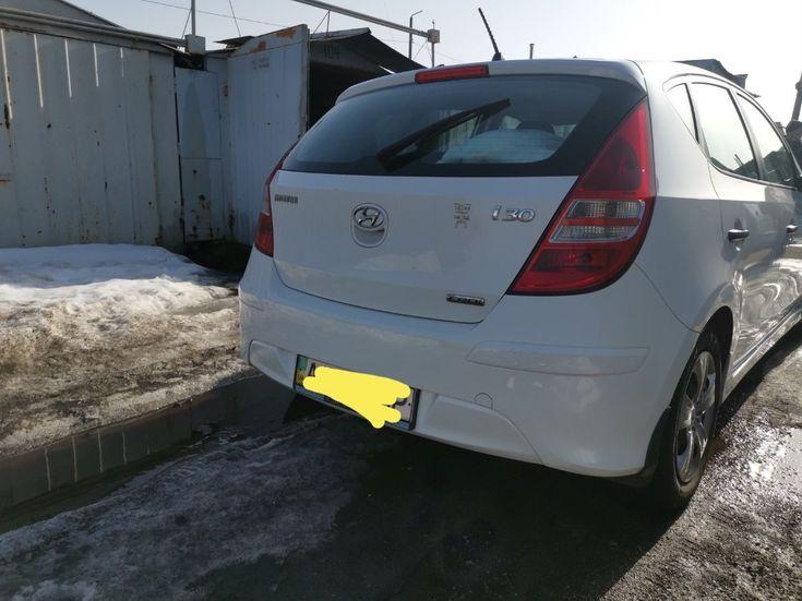 Hyundai i30 2011 белый - фото 4