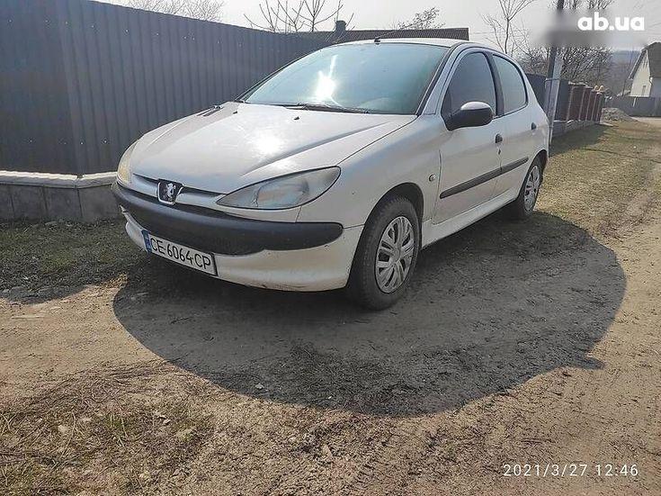 Peugeot 206 2008 белый - фото 4