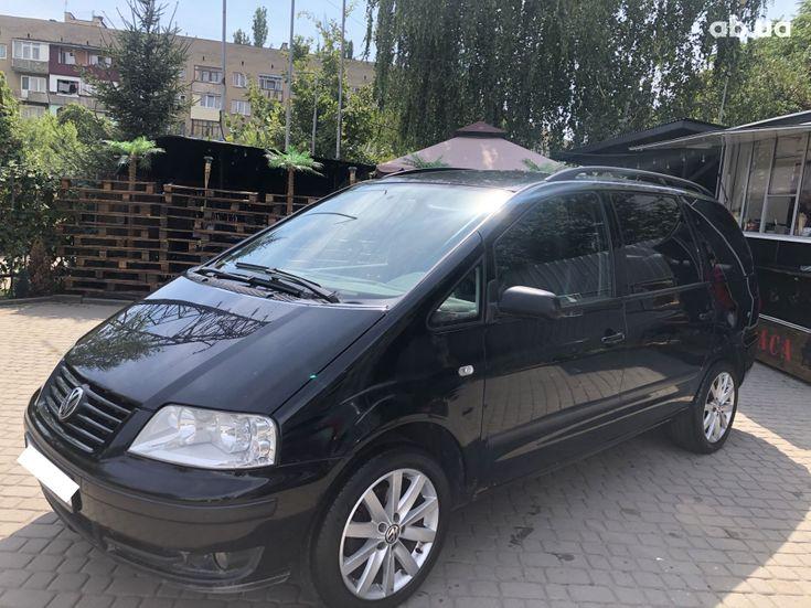 Volkswagen Sharan 2000 черный - фото 2